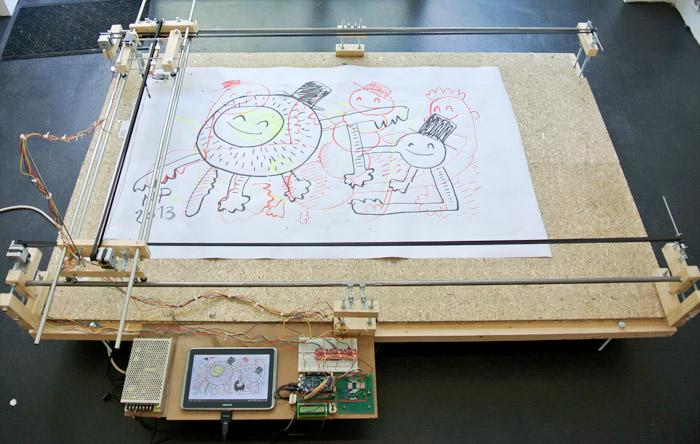Arduino drawing machine