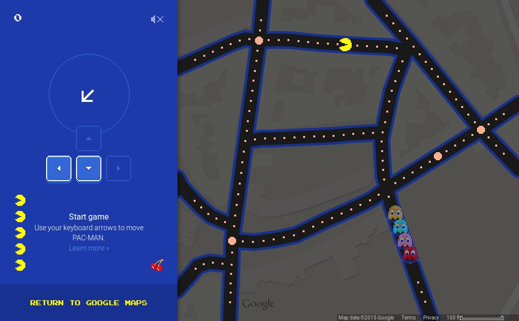 Pacman Parvis St-Gilles Screenshot