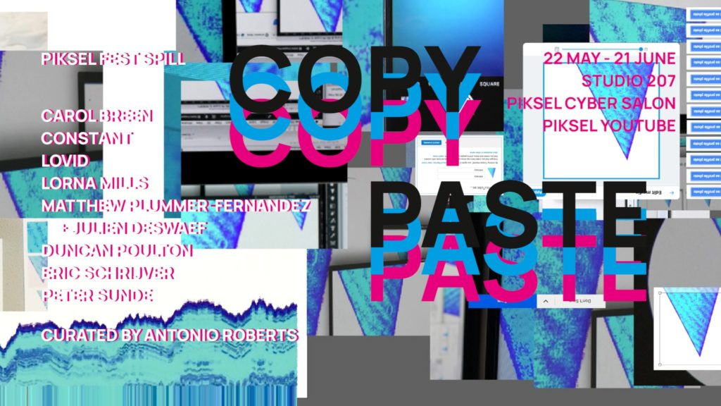 Copy Paste Poster